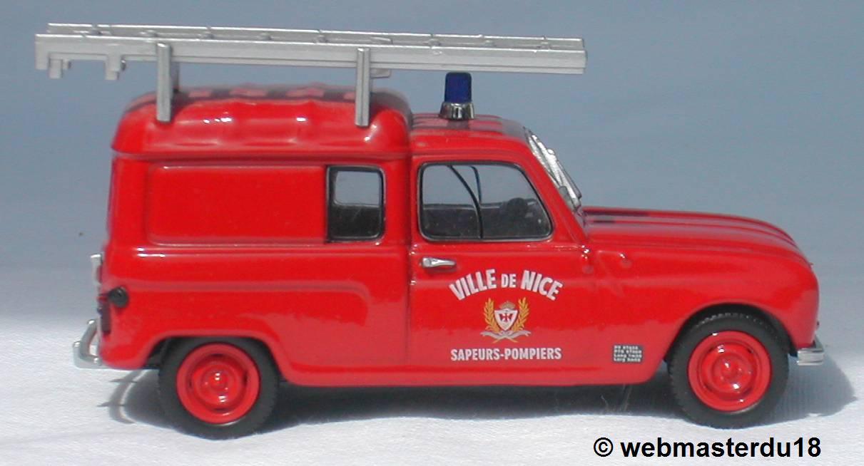 miniatures de pompier
